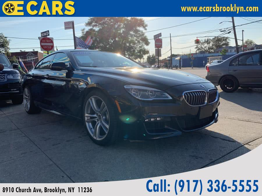 2016 BMW 6 Series 4dr Sdn 640i xDrive AWD Gran Coupe, available for sale in Brooklyn, New York | E Cars . Brooklyn, New York