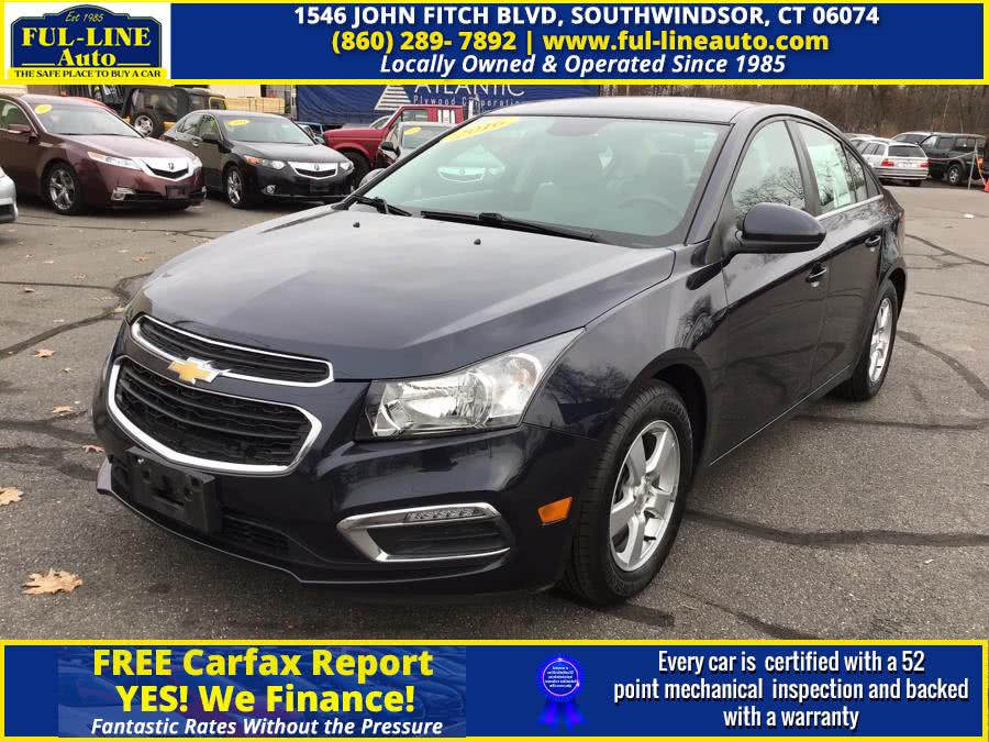 Used 2016 Chevrolet Cruze Limited in South Windsor , Connecticut | Ful-line Auto LLC. South Windsor , Connecticut