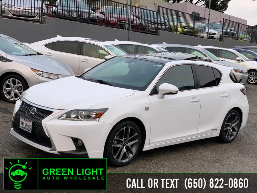 Used Lexus CT 200h F Sport 2015 | Green Light Auto Wholesale. Daly City, California