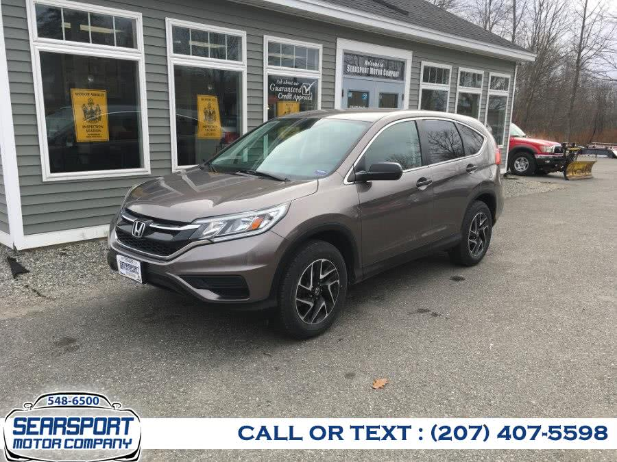 Used 2016 Honda CR-V in Searsport, Maine | Searsport Motor Company. Searsport, Maine