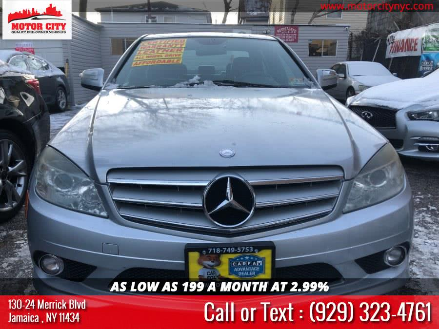 2009 Mercedes-Benz C-Class 4dr Sdn 3.0L Sport 4MATIC, available for sale in Jamaica, New York | Motor City. Jamaica, New York