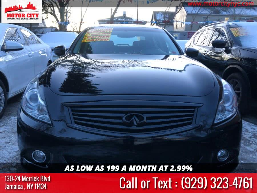 Used 2012 Infiniti G37 Sedan in Jamaica, New York | Motor City. Jamaica, New York