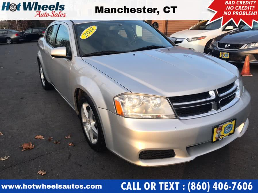 Used Dodge Avenger 4dr Sdn SXT 2012 | Hot Wheels Auto Sales LLC. Manchester, Connecticut