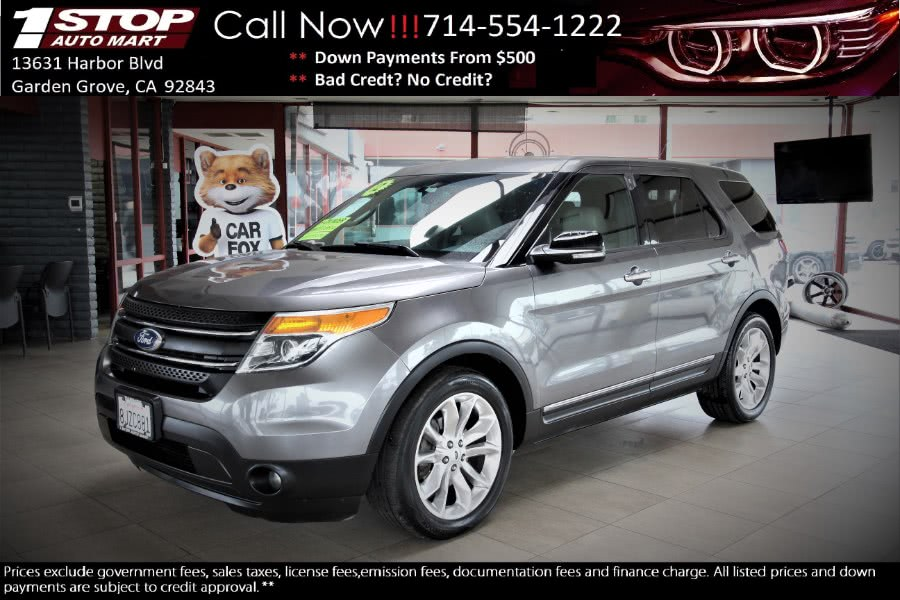 Used Ford Explorer FWD 4dr XLT 2012 | 1 Stop Auto Mart Inc.. Garden Grove, California