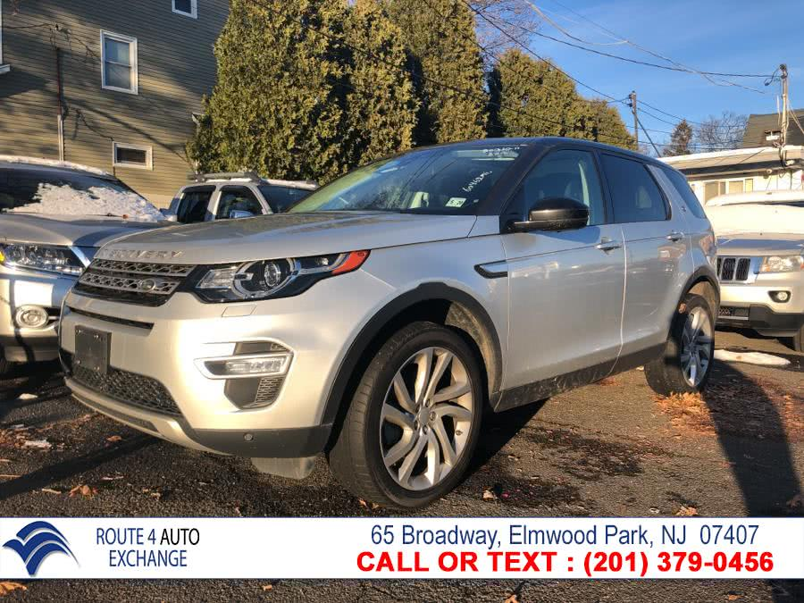 Used 2015 Land Rover Discovery Sport in Elmwood Park, New Jersey | Route 4 Auto Exchange. Elmwood Park, New Jersey