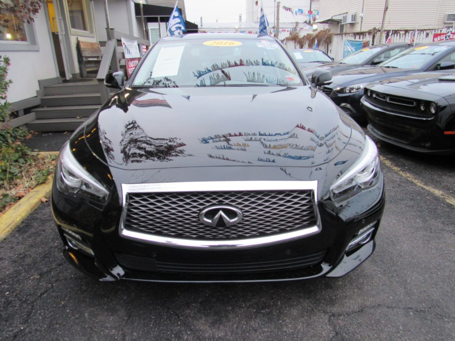2016 INFINITI Q50 4dr Sdn 2.0t Premium AWD NAVI, available for sale in Middle Village, New York | Road Masters II INC. Middle Village, New York