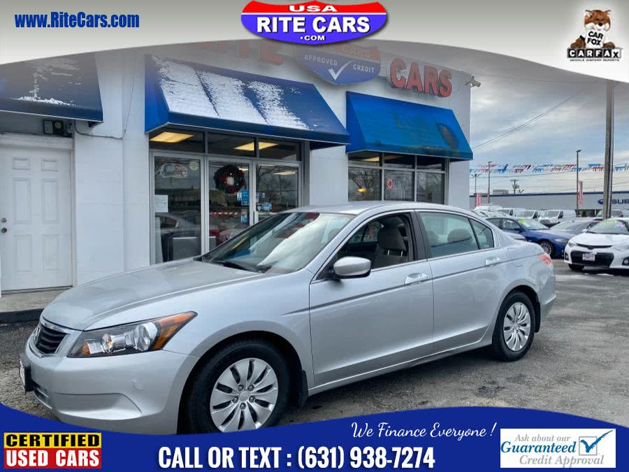 Used Honda Accord Sdn 4dr I4 Auto LX 2009 | Rite Cars, Inc. Lindenhurst, New York