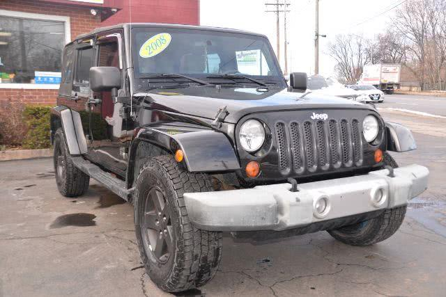 Used 2008 Jeep Wrangler in New Haven, Connecticut | Boulevard Motors LLC. New Haven, Connecticut