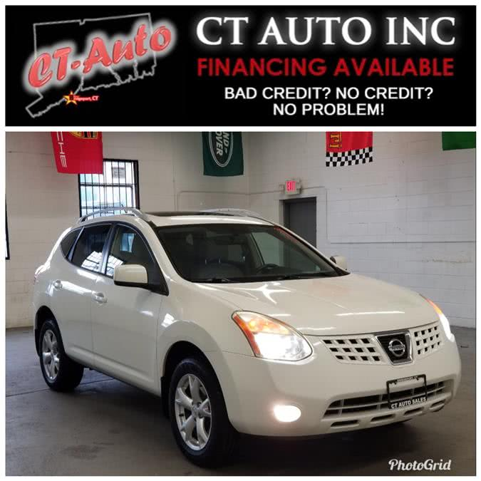 Used Nissan Rogue AWD 4dr SL w/CA Emissions 2008 | CT Auto. Bridgeport, Connecticut