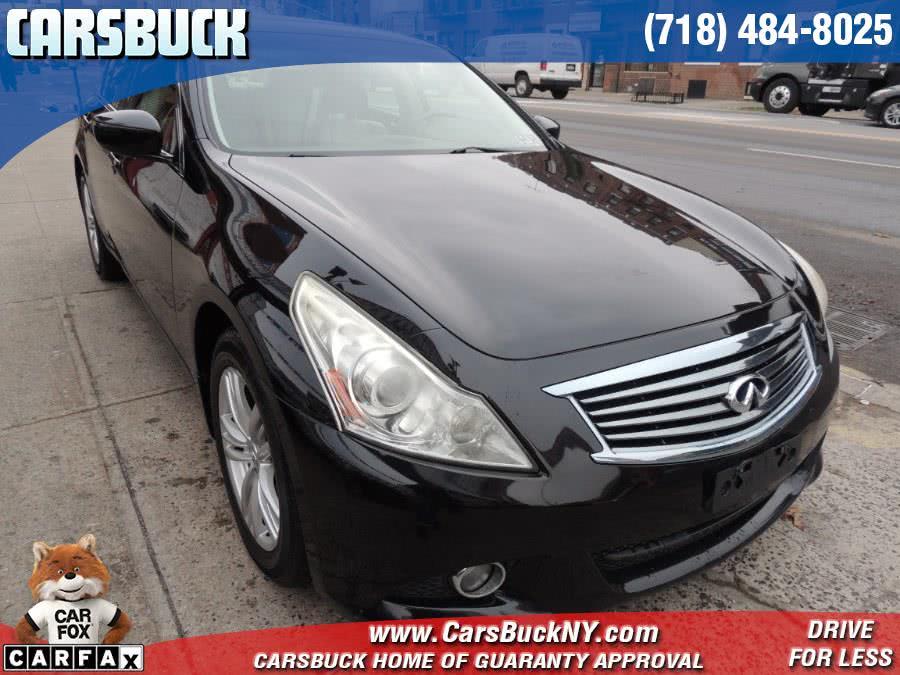 Used 2011 INFINITI G37 Sedan in Brooklyn, New York | Carsbuck Inc.. Brooklyn, New York