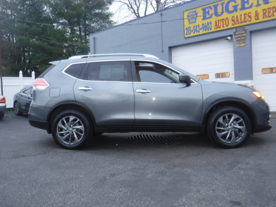 2016 Nissan Rogue AWD 4dr SL, available for sale in Philadelphia, Pennsylvania | Eugen's Auto Sales & Repairs. Philadelphia, Pennsylvania