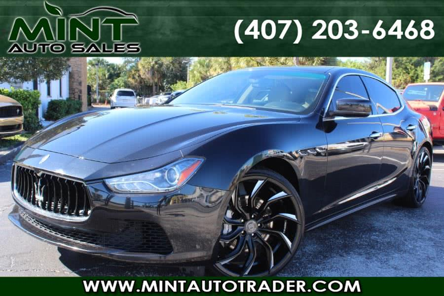 Used 2014 Maserati Ghibli in Orlando, Florida | Mint Auto Sales. Orlando, Florida