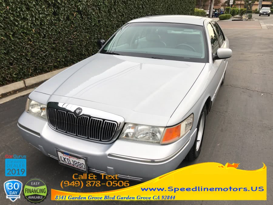 Used 2000 Mercury Grand Marquis in Garden Grove, California | Speedline Motors. Garden Grove, California