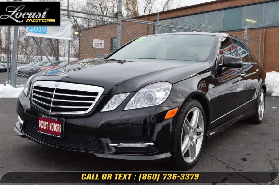 Used 2013 Mercedes-Benz E-Class in Hartford, Connecticut | Locust Motors LLC. Hartford, Connecticut