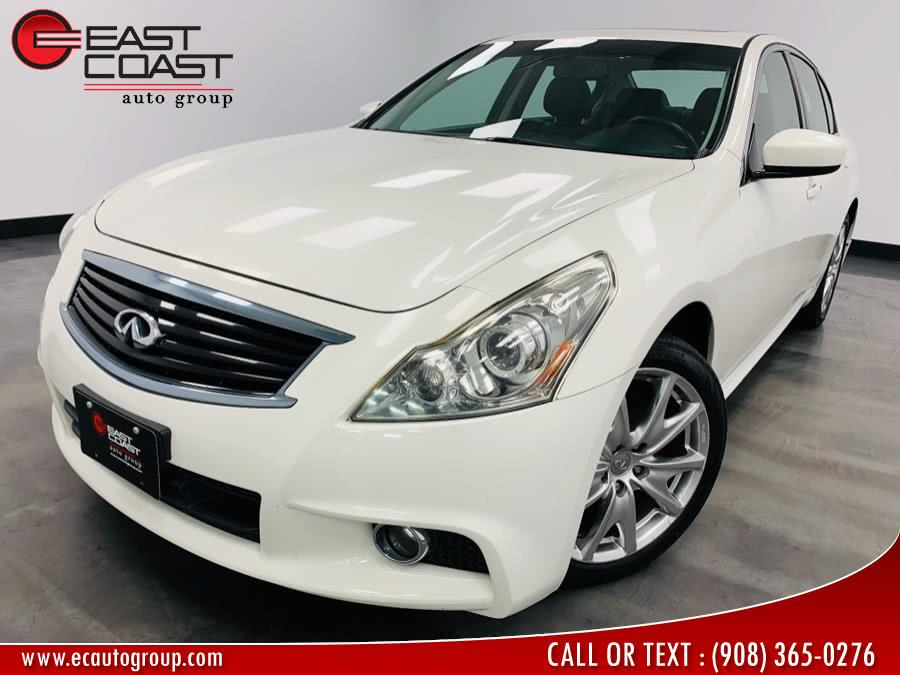 Used 2012 Infiniti G37 Sedan in Linden, New Jersey | East Coast Auto Group. Linden, New Jersey