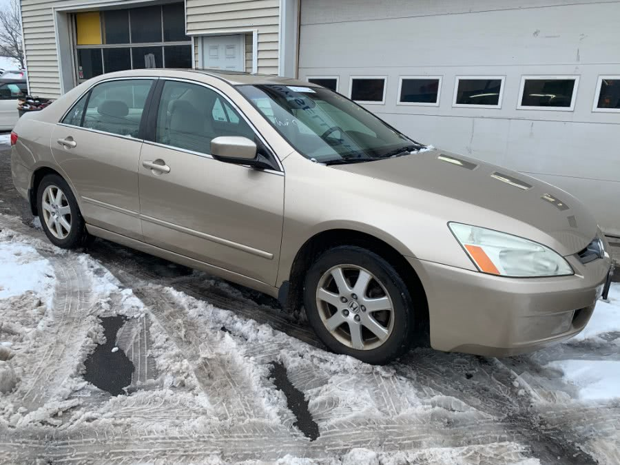Used Honda Accord Sdn EX-L V6 AT with NAVI 2005 | Wallingford Auto Center LLC. Wallingford, Connecticut