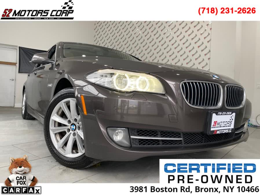 Used BMW 5 Series 4dr Sdn 528i xDrive AWD 2013 | 52Motors Corp. Bronx, New York