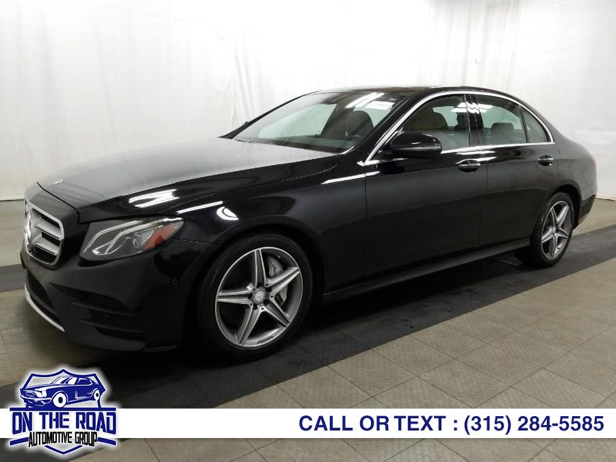 Used Mercedes-Benz E-Class E300 Sport 4MATIC Sedan 2017 | On The Road Automotive Group Inc. Bronx, New York