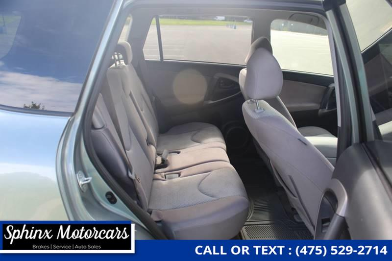 2008 Toyota Rav4 Base 4x4 4dr SUV, available for sale in Waterbury, Connecticut   Sphinx Motorcars. Waterbury, Connecticut