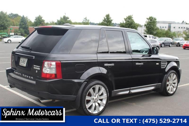 2009 Land Rover Range Rover Sport Supercharged 4x4 4dr SUV, available for sale in Waterbury, Connecticut | Sphinx Motorcars. Waterbury, Connecticut