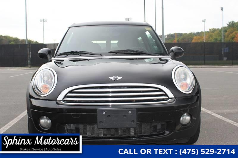 2009 Mini Cooper Clubman Base 3dr Wagon, available for sale in Waterbury, Connecticut | Sphinx Motorcars. Waterbury, Connecticut