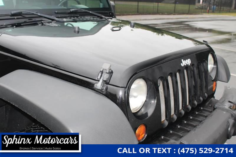 2008 Jeep Wrangler X 4x4 2dr SUV, available for sale in Waterbury, Connecticut | Sphinx Motorcars. Waterbury, Connecticut