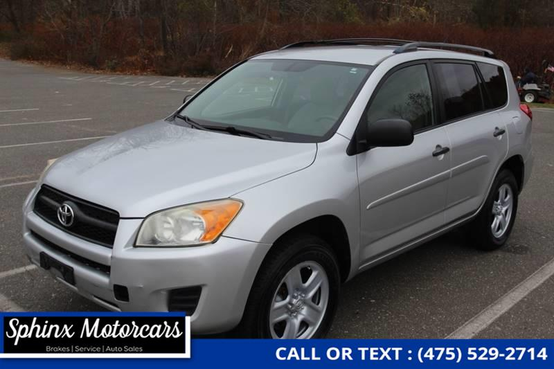 2010 Toyota Rav4 Base 4x4 4dr SUV, available for sale in Waterbury, Connecticut | Sphinx Motorcars. Waterbury, Connecticut
