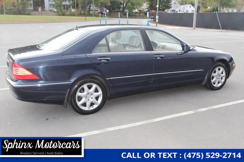 2005 Mercedes-benz S-class S 430 4MATIC AWD 4dr Sedan, available for sale in Waterbury, Connecticut | Sphinx Motorcars. Waterbury, Connecticut