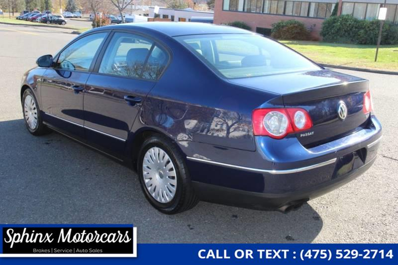 2006 Volkswagen Passat Value Edition 4dr Sedan (2L I4 6A), available for sale in Waterbury, Connecticut   Sphinx Motorcars. Waterbury, Connecticut