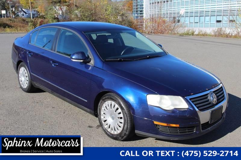 2006 Volkswagen Passat Value Edition 4dr Sedan (2L I4 6A), available for sale in Waterbury, Connecticut | Sphinx Motorcars. Waterbury, Connecticut