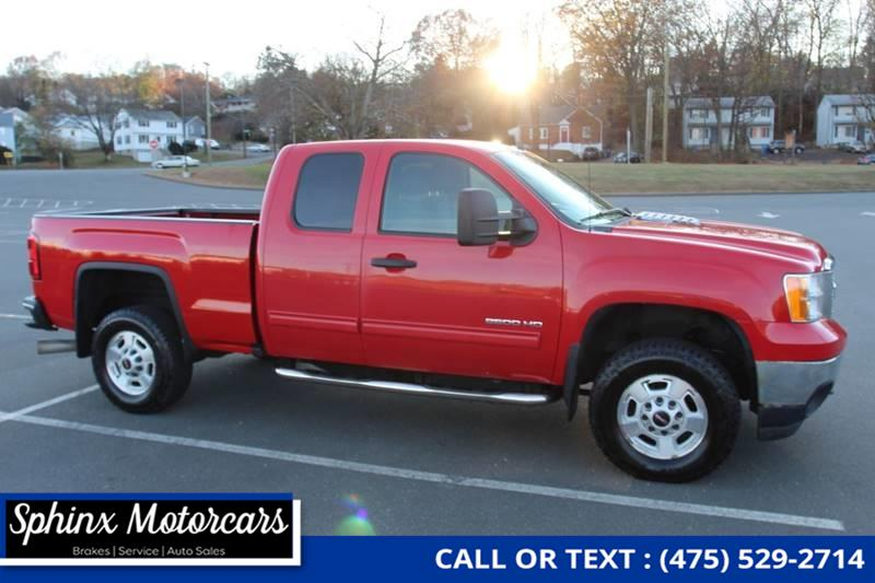 2011 GMC Sierra 2500hd SLE 4x4 4dr Extended Cab SB, available for sale in Waterbury, Connecticut | Sphinx Motorcars. Waterbury, Connecticut