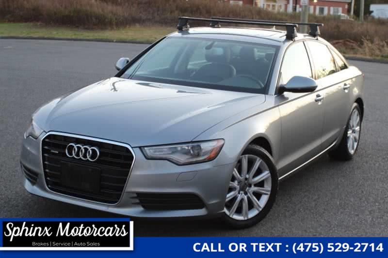 Used 2015 Audi A6 in Waterbury, Connecticut | Sphinx Motorcars. Waterbury, Connecticut