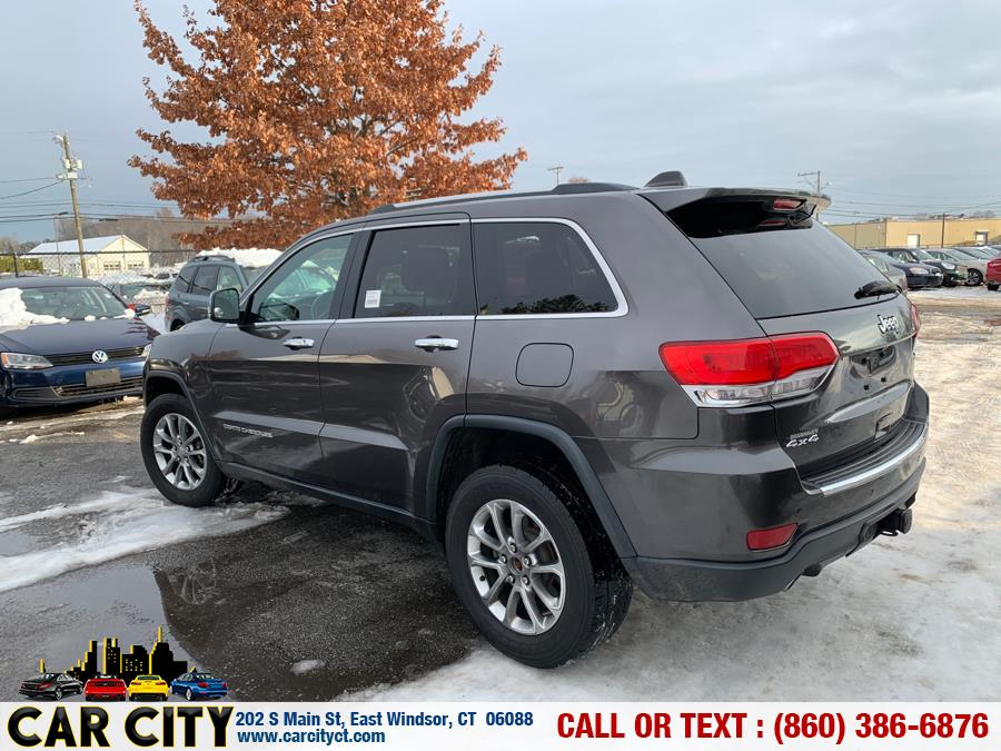 Used Jeep Grand Cherokee 4WD 4dr Limited 2014 | Car City LLC. East Windsor, Connecticut