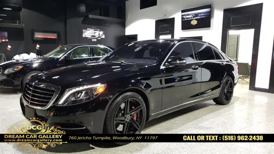 2015 Mercedes-Benz S-Class 4dr Sdn S550 4MATIC, available for sale in Woodbury, NY