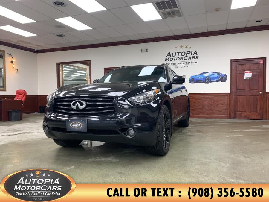 Used 2016 INFINITI QX70S in Union, New Jersey | Autopia Motorcars Inc. Union, New Jersey