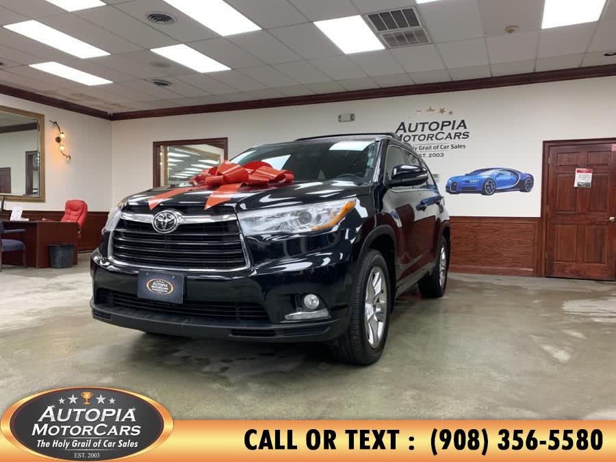 Used 2015 Toyota Highlander in Union, New Jersey | Autopia Motorcars Inc. Union, New Jersey