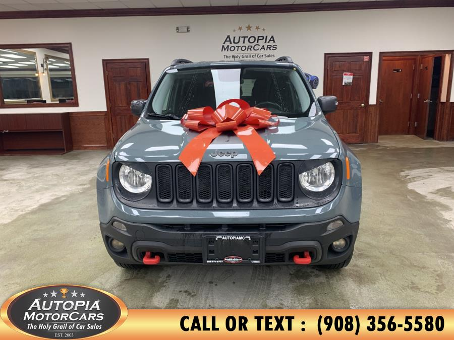 Used Jeep Renegade 4WD 4dr Trailhawk 2016 | Autopia Motorcars Inc. Union, New Jersey