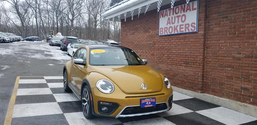 Used 2016 Volkswagen Beetle Coupe in Waterbury, Connecticut | National Auto Brokers, Inc.. Waterbury, Connecticut