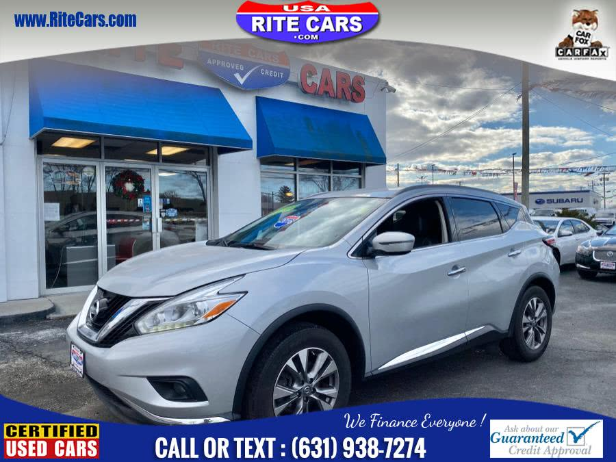 Used Nissan MURANO NAVIGATION AWD 4dr SV LIMITED 4 BRAND NEW TIRES 2016 | Rite Cars, Inc. Lindenhurst, New York