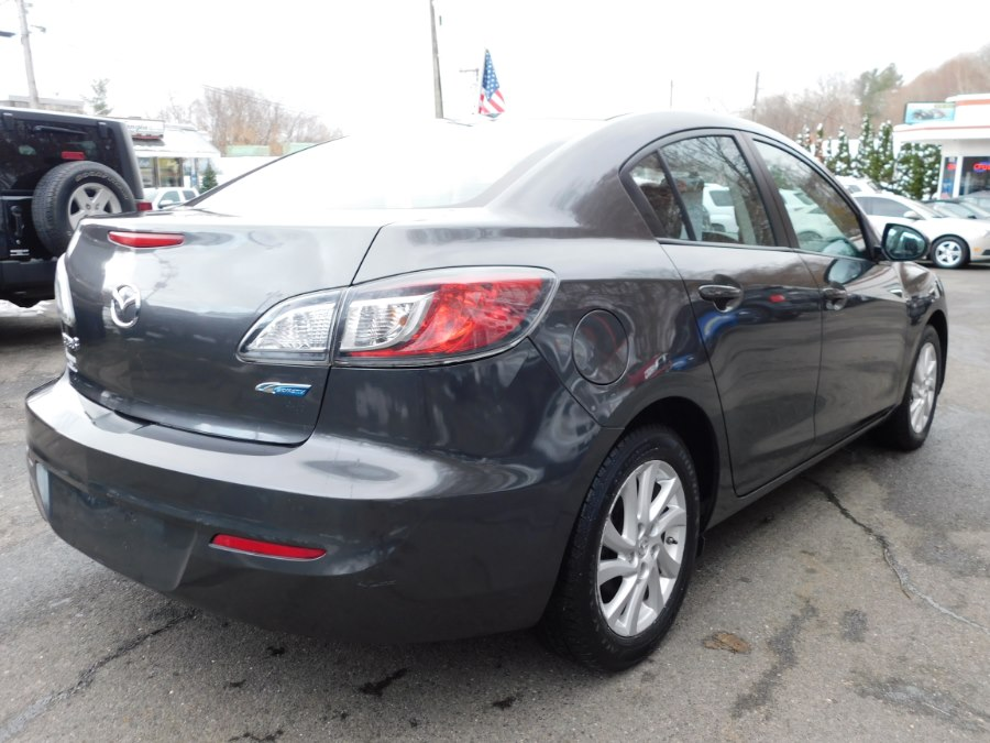2012 Mazda Mazda3 4dr Sdn Auto i Touring, available for sale in Watertown, Connecticut | Watertown Auto Sales. Watertown, Connecticut