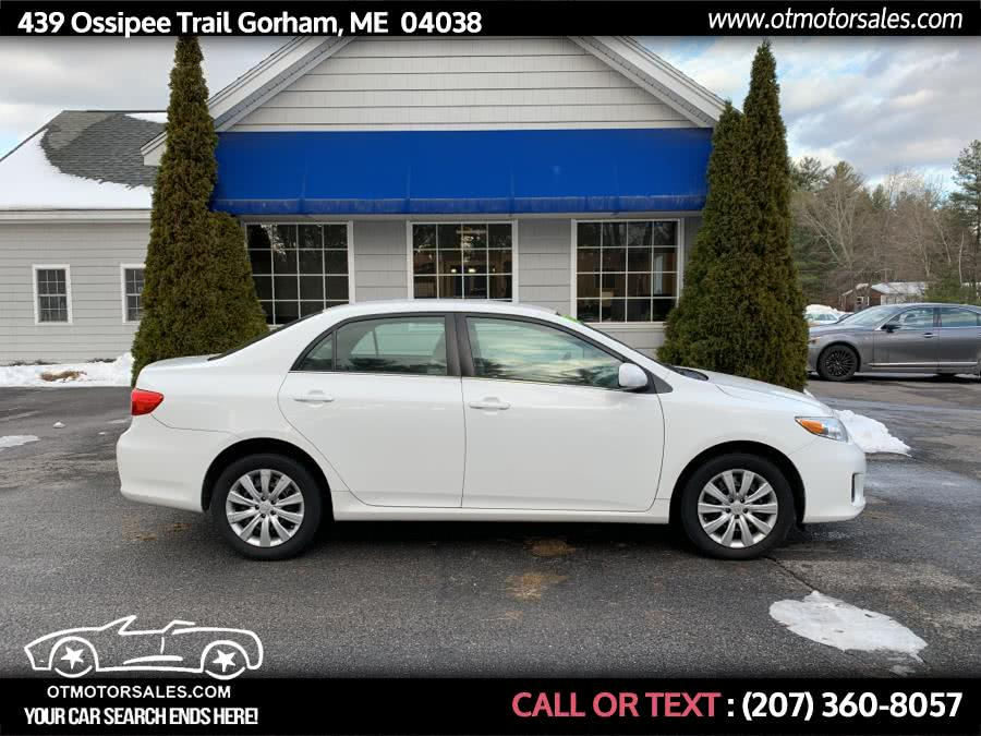 Used 2013 Toyota Corolla in Gorham, Maine | Ossipee Trail Motor Sales. Gorham, Maine