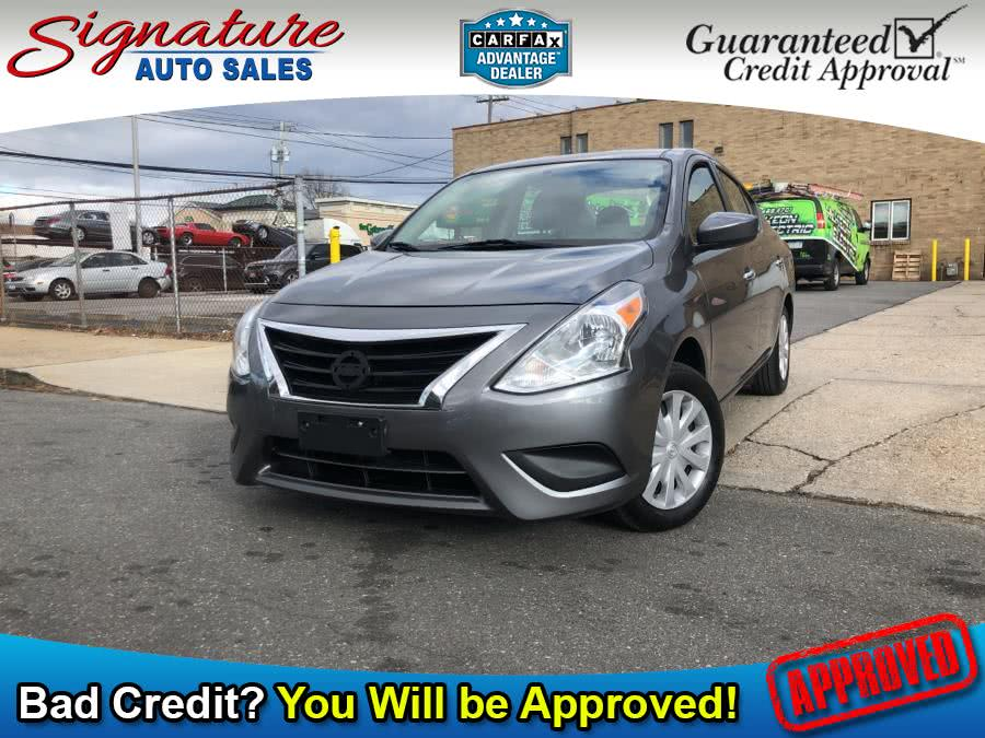 Used 2016 Nissan Versa in Franklin Square, New York | Signature Auto Sales. Franklin Square, New York