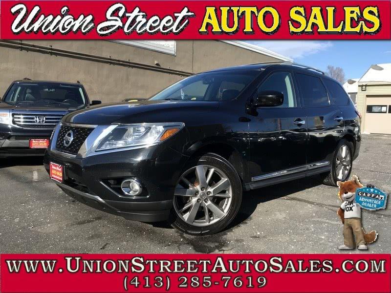 Used 2013 Nissan Pathfinder in West Springfield, Massachusetts | Union Street Auto Sales. West Springfield, Massachusetts