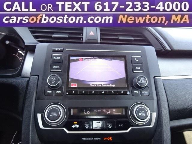 2017 Honda Civic Sedan LX CVT, available for sale in Newton, Massachusetts | Motorcars of Boston. Newton, Massachusetts