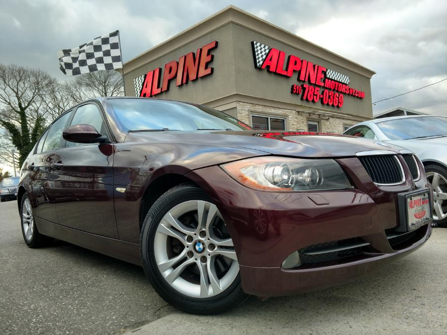 2008 BMW 3 Series 4dr Sdn 328xi AWD SULEV, available for sale in Wantagh, New York | Alpine Motors Inc. Wantagh, New York