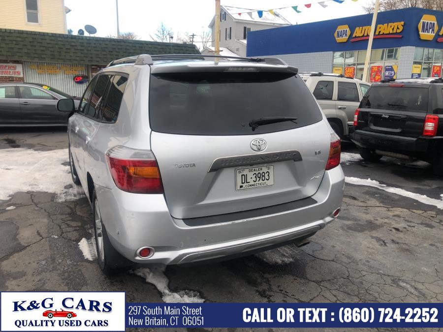 Used Toyota Highlander 4WD 4dr Sport (GS) 2008 | K and G Cars . New Britain, Connecticut