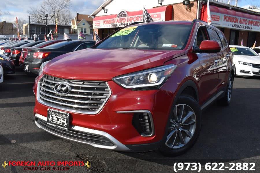 Used Hyundai Santa Fe SE 3.3L Auto AWD 2017 | Foreign Auto Imports. Irvington, New Jersey