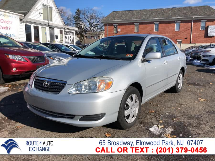 Used 2007 Toyota Corolla in Elmwood Park, New Jersey | Route 4 Auto Exchange. Elmwood Park, New Jersey