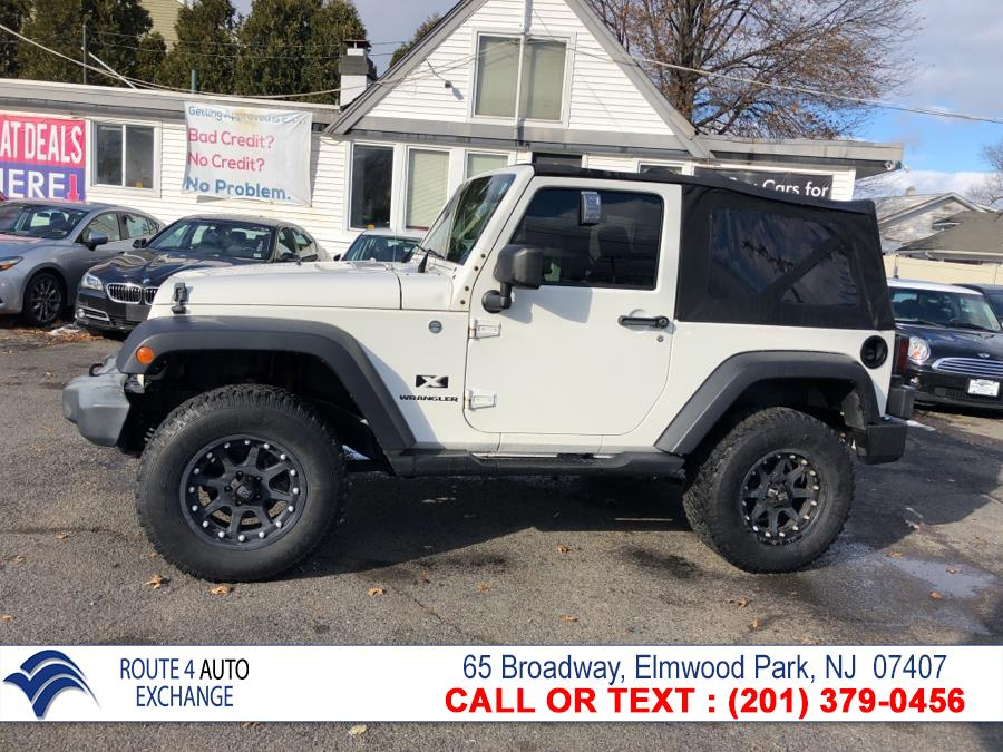 Used Jeep Wrangler 4WD 2dr X 2007 | Route 4 Auto Exchange. Elmwood Park, New Jersey
