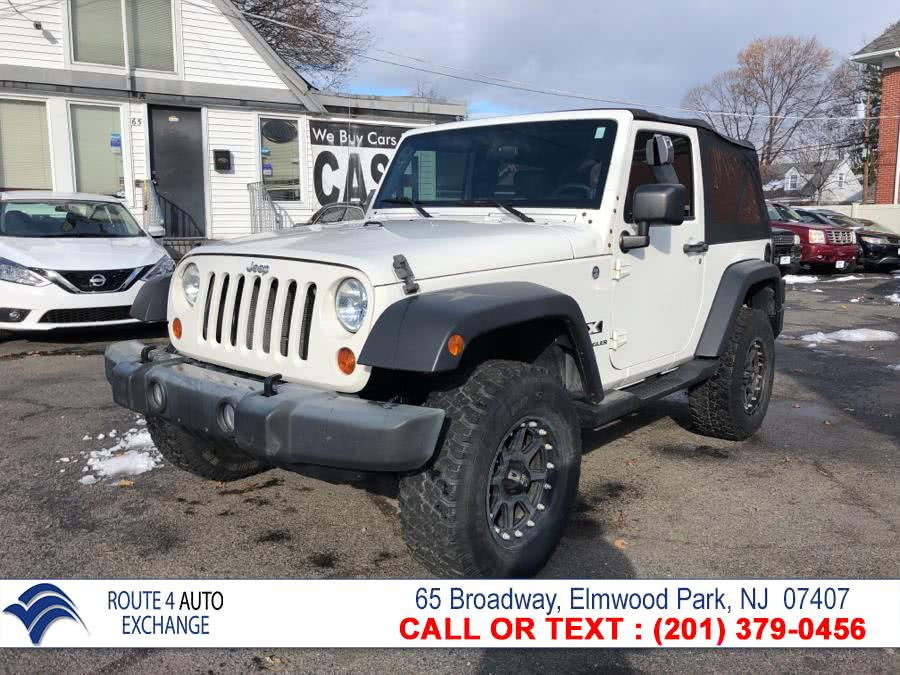 2007 Jeep Wrangler 4WD 2dr X, available for sale in Elmwood Park, NJ